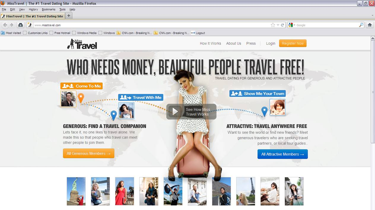 Miss Travel 1 Travel Dating Travel Companion Site