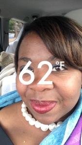 Snapchat selfie