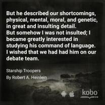 Starship Troopers - Favorite Quote