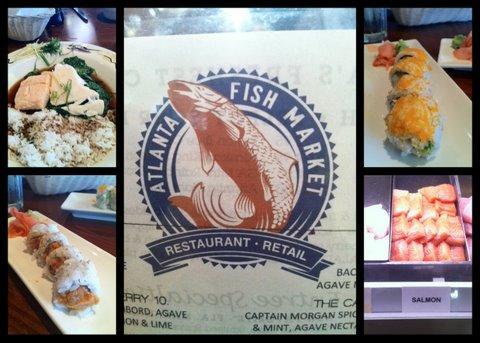 Foodie friday atlanta restaurant atlanta fish market for The fish market atlanta